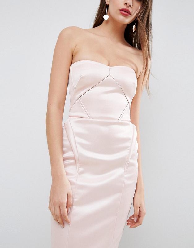 Шикарное атласное сатиновое платье asos ASOS, цена - 680 грн, #30943353, купить по доступной цене   Украина - Шафа