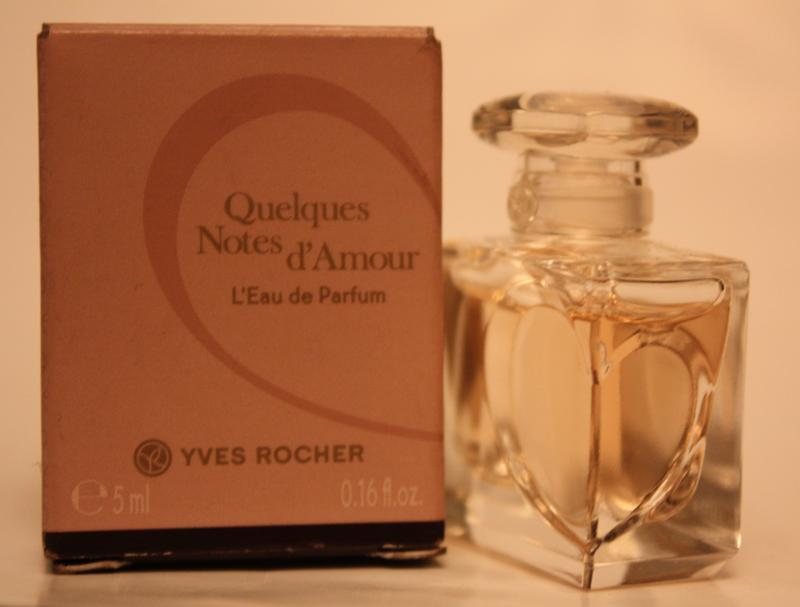 Quelques Notes dAmour  Несколько Нот Любви Yves Rocher