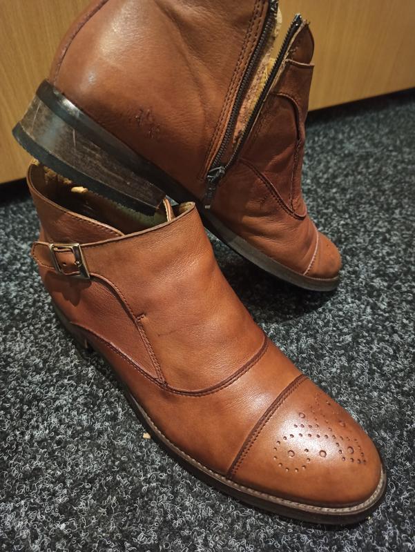 Кожанные ботинки мах: купить по доступной цене в Киеве и Украине | SHAFA.ua