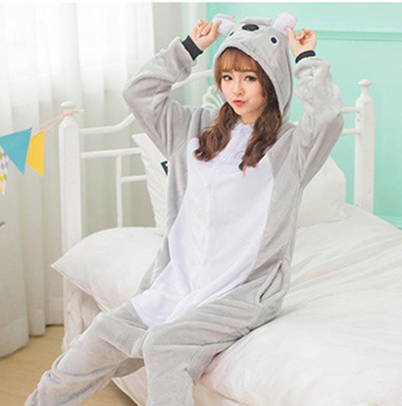 Пижама кигуруми коала kigurumi домашний костюм серый1 ... 8f77fd387d1b1
