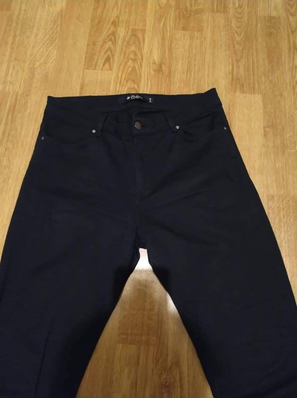 Чёрные джинсы скини colin