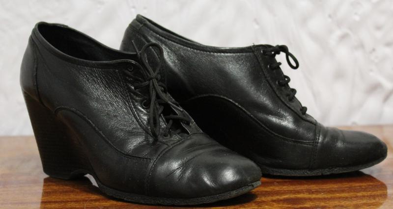 Хороші зручні шкіряні черевики на платформі 9d7c81dab8877