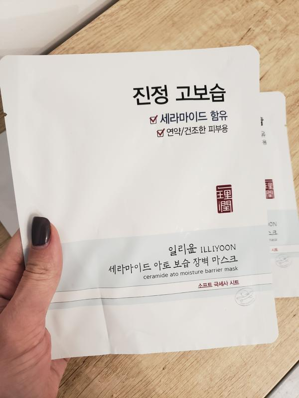 Тканевая маска с керамидами от бренда illiyoon за 75 грн. | Шафа