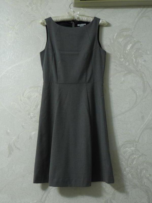 6fe28b66f51 Строгий теплый сарафан платье без рукавов1 фото ...