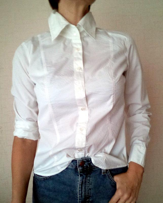 b421a9b2ed0 Белая рубашка офисная