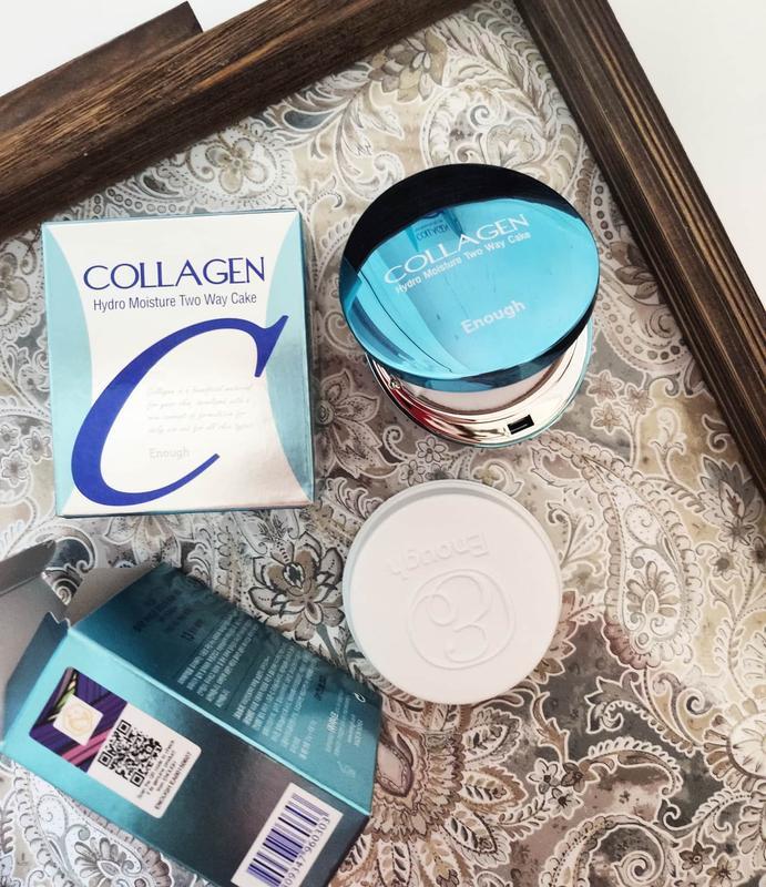 Увлажняющая пудра enough collagen - купить по доступной цене в Украине   SHAFA.ua