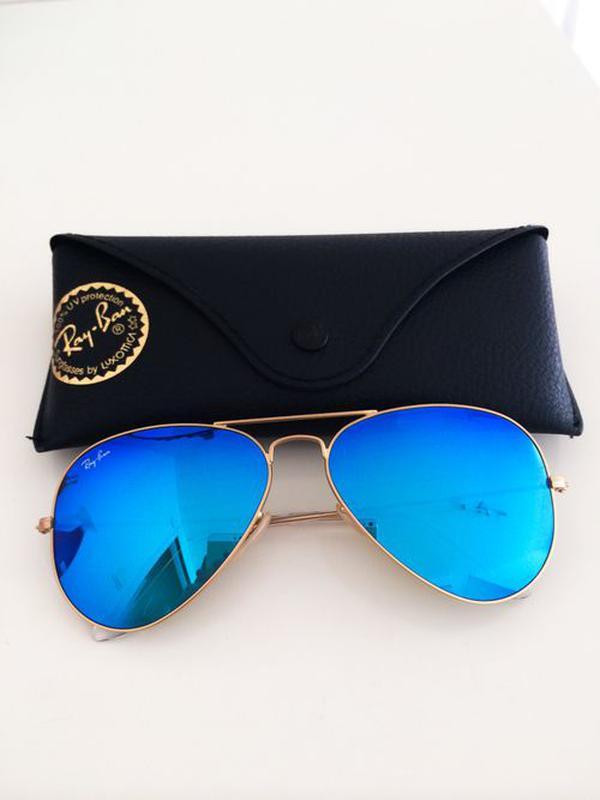 Солнцезащитные очки ray ban aviator стекло c1076aa350e22