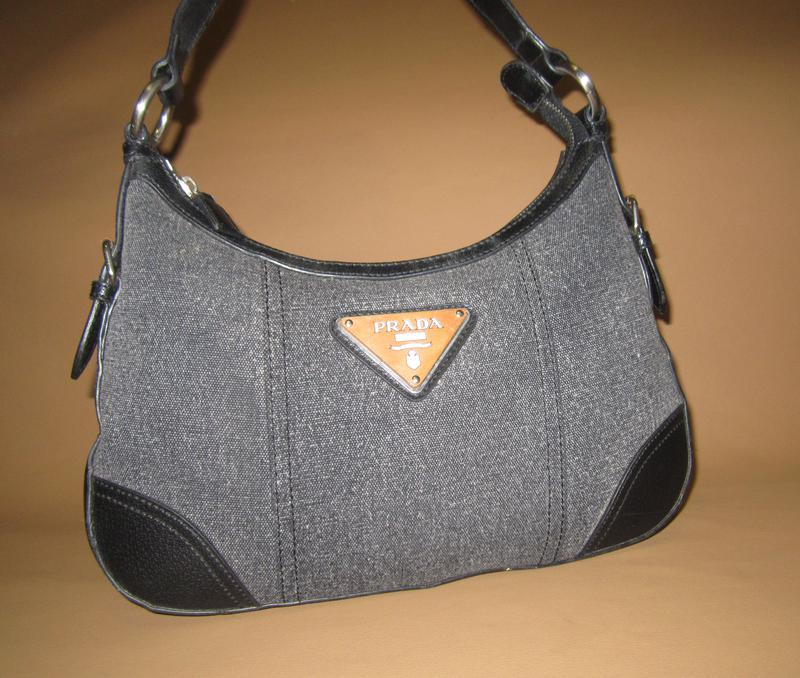 8a95f036cbf6 Брендовая кожаная сумка prada италия нат. кожа + текстиль1 фото ...