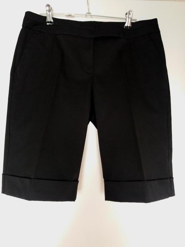 Черные шорты-бермуды, классические со стрелками Orsay, цена - 183 грн, #32386475, купить по доступной цене | Украина - Шафа