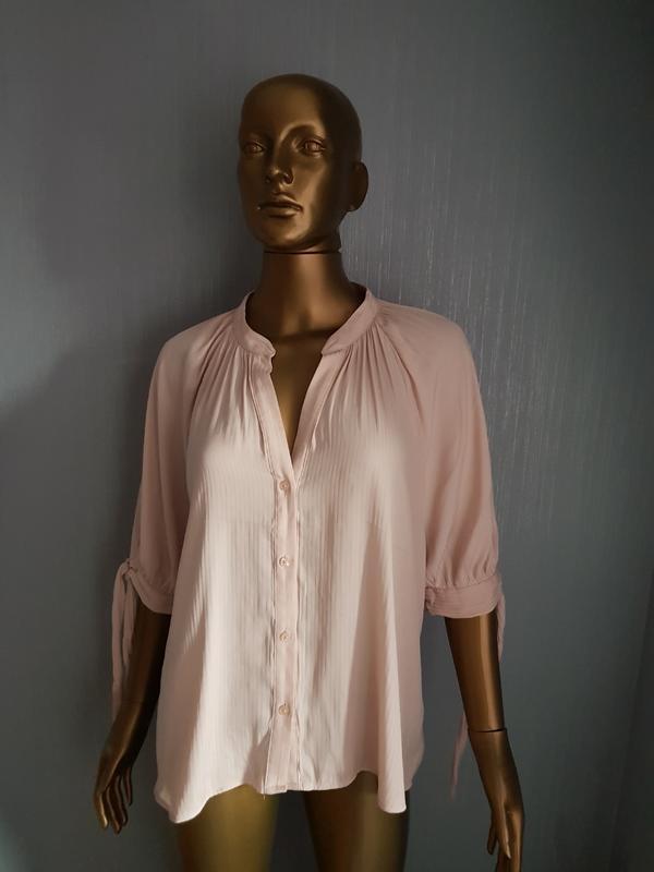 Бежевая блузка h&m с пышными рукавами H&M, цена - 140 грн, #32761495, купить по доступной цене | Украина - Шафа