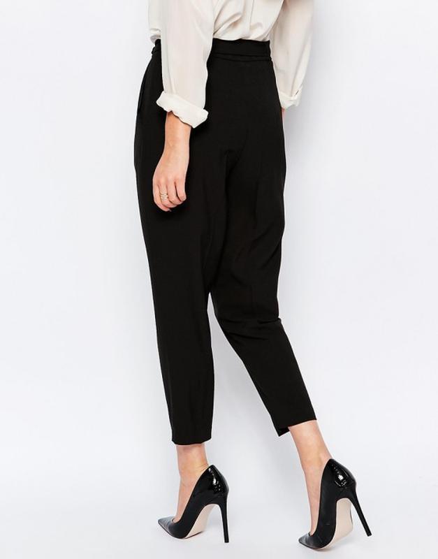 Актуальные укороченные брюки с высокой посадкой marks & spencer Marks & Spencer, цена - 379 грн, #32761969, купить по доступной цене | Украина - Шафа