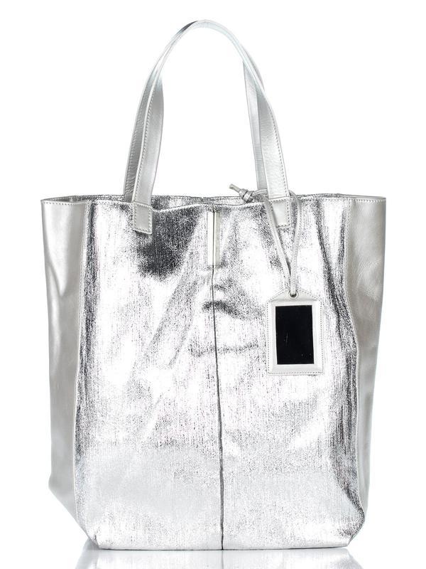 942b6c28f2d3 Сумка шоппер от promod серебро Promod, цена - 500 грн,  3772625 ...