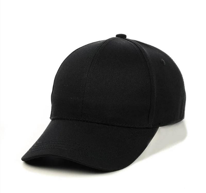Черная кепка бейсболка базовая однотонная коттон, цена - 180 грн,  #33182366, купить по доступной цене | Украина - Шафа