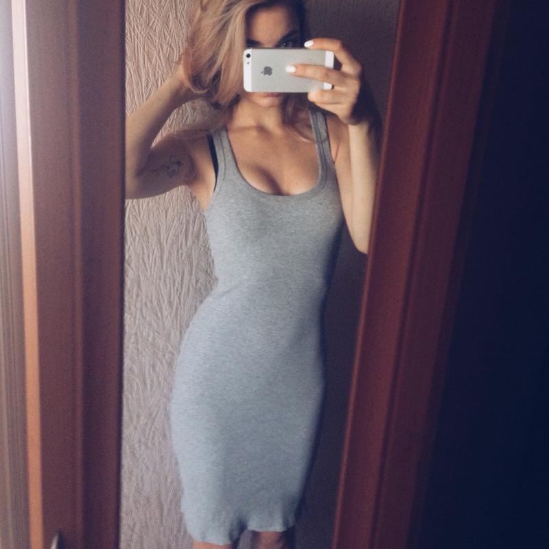 Купить платья майка миди