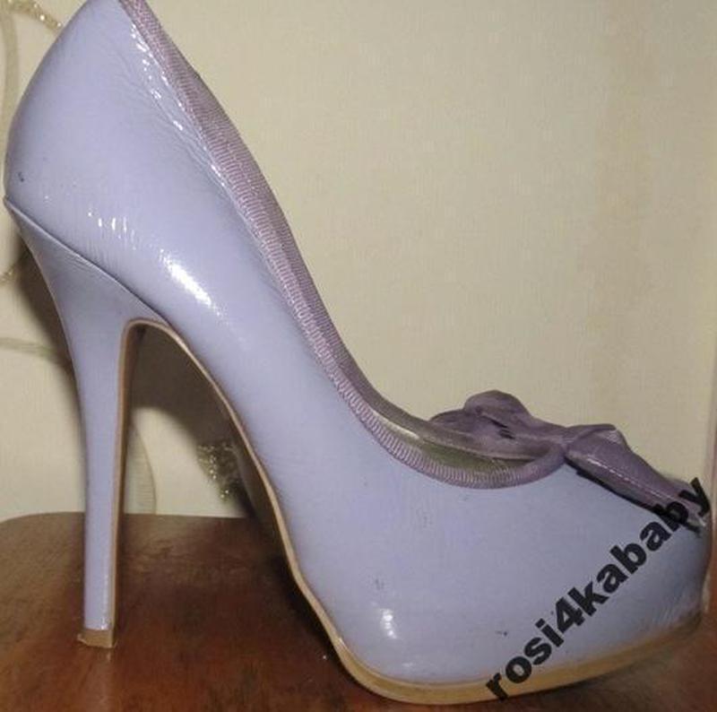 Оригінальні лакові фіолетові туфлі р39 ід стан1 ... 8457b11e58d6f