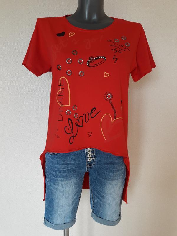 Мега-крутая,трендовая туника, футболка с длинной спинкой pink daisy,турция Турция, цена - 365 грн, #33587673, купить по доступной цене | Украина - Шафа