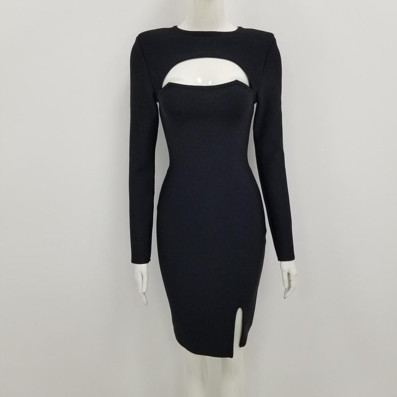 Бандажное платье с вырезом, цена - 1500 грн, #33619901, купить по доступной цене | Украина - Шафа