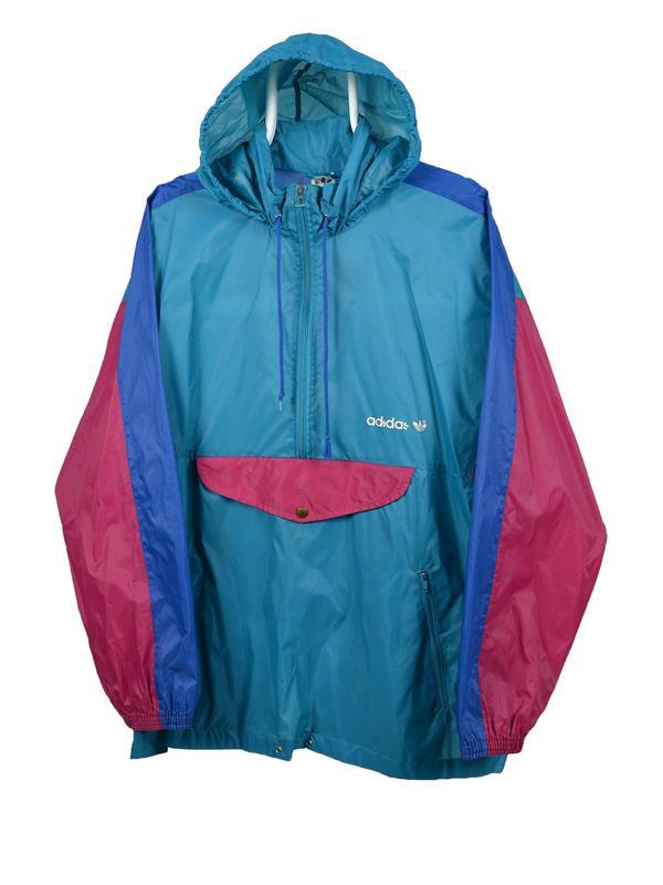 Adidas винтажная ветровка, оригинал! Adidas, цена - 350 грн, #33660925, купить по доступной цене | Украина - Шафа