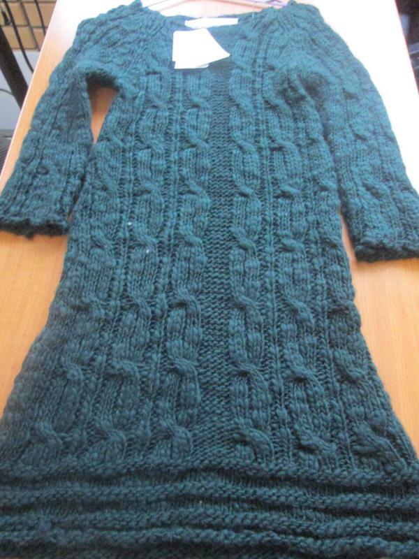 c27baecf8b0 Теплое вязаное платье туника от zara knit1 фото