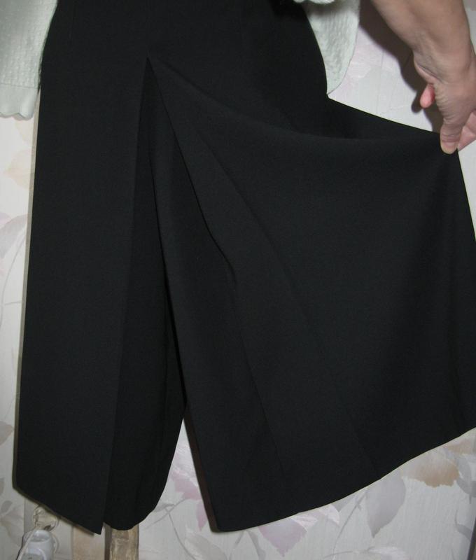 Шикарная юбка-брюки брюки-юбка кюлоты высокая посадка р.42-44(укр) Topshop, цена - 315 грн, #33834136, купить по доступной цене | Украина - Шафа