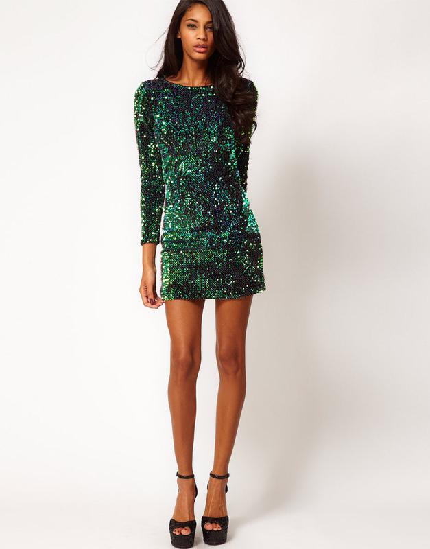 Платье с паеток купить