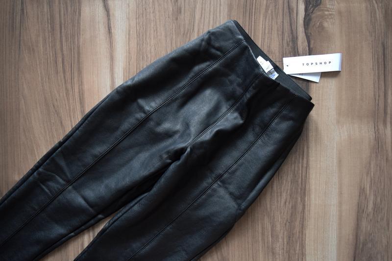 Утепленные брюки из кож зама (новые, с биркой) topshop Topshop, цена - 450 грн, #34190125, купить по доступной цене | Украина - Шафа