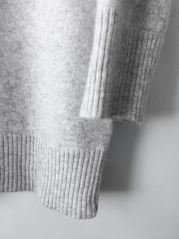 025414cd37f1 Свитер кофта f&f весенний зимний теплый кашемир женский серый рукав 3/4  (F&F) за 580 грн.