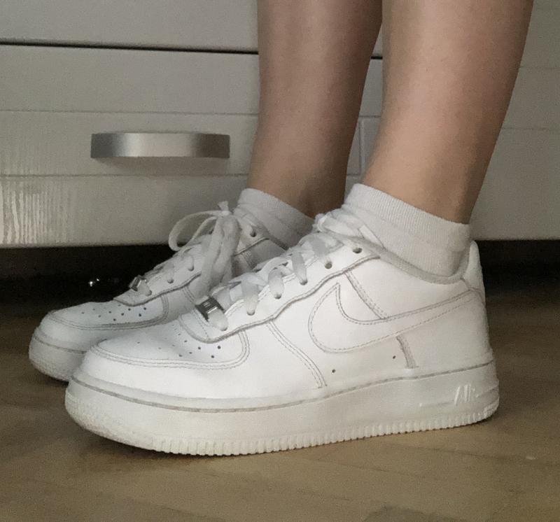 Nike air force кроссовки белые оригинал кеды Nike, цена - 1000 грн, #34221692, купить по доступной цене | Украина - Шафа