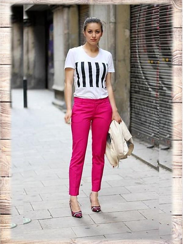 Яркие малиновые джинсы зауженные скинни American Vintage, цена - 89 грн, #34156260, купить по доступной цене | Украина - Шафа