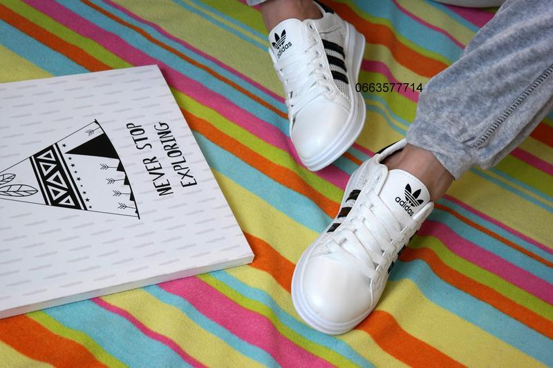 Белые женские кеды білі кеди кросівки жіночі удобная обувь на каждый день . за 259 грн. | Шафа