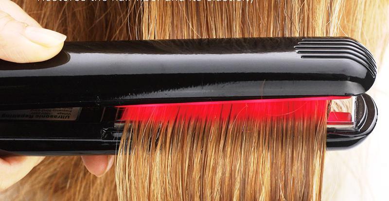Холодный утюжок для лечения волос
