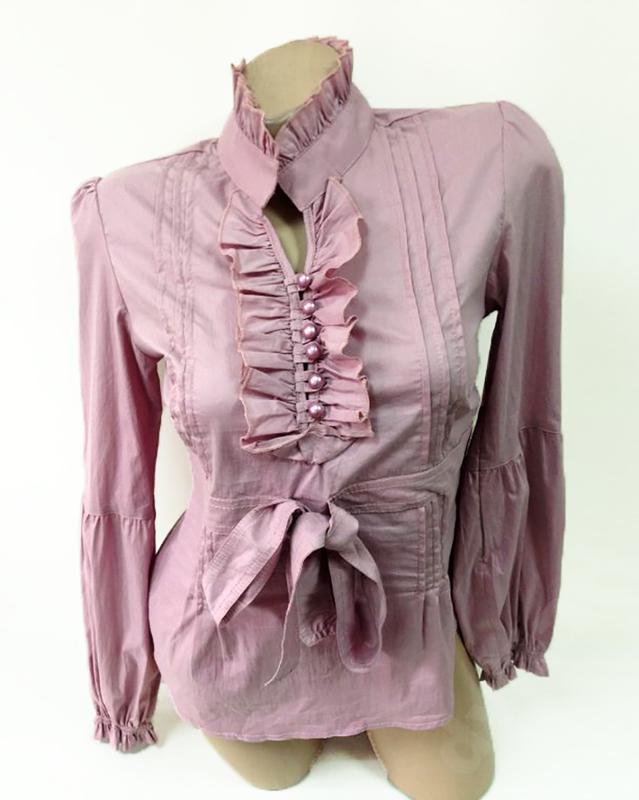 8dd690d06bc Распродажа. красивая блуза рубашка. рюши и жабо. новая