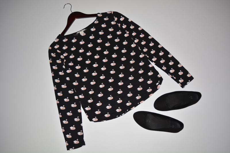 Кофточка, джемпер с лебедями h&m H&M, цена - 85 грн, #4019931, купить по доступной цене | Украина - Шафа