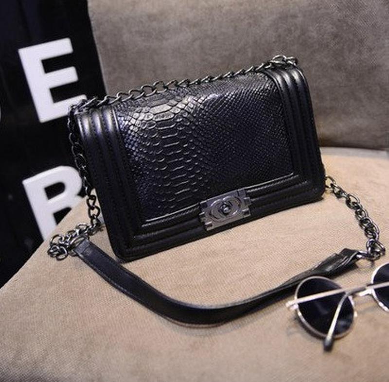 6b3c9b9b3981 Новая женская сумка - клатч chanel boy (шанель бой), цена - 500 грн ...