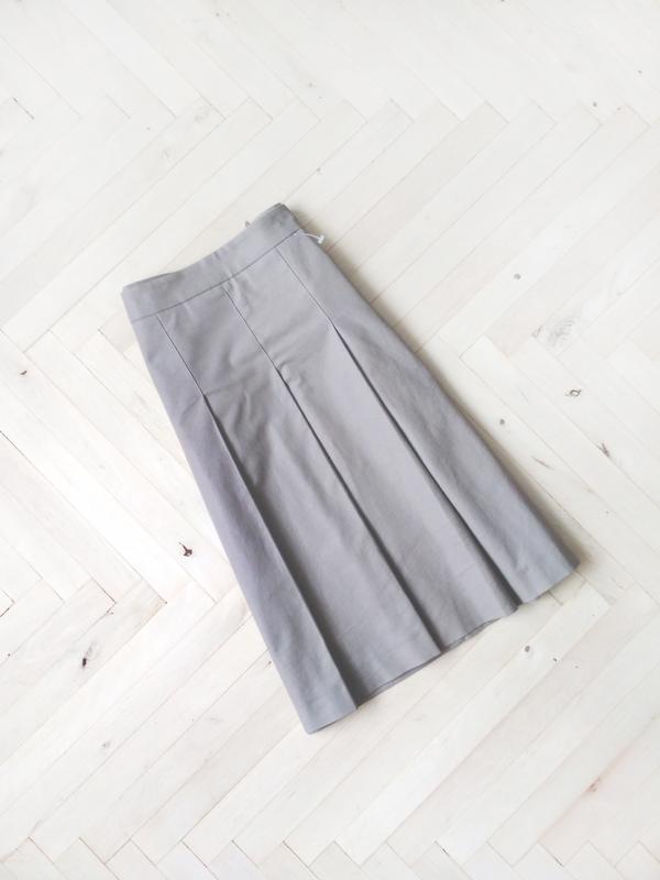 Плотная миди юбка в складки zara basic ZARA, цена - 249 грн, #35078612, купить по доступной цене | Украина - Шафа