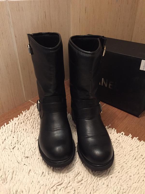 Ботинки,сапоги кожаные Terranova, цена - 400 грн,  4054466, купить ... a74fcd01648