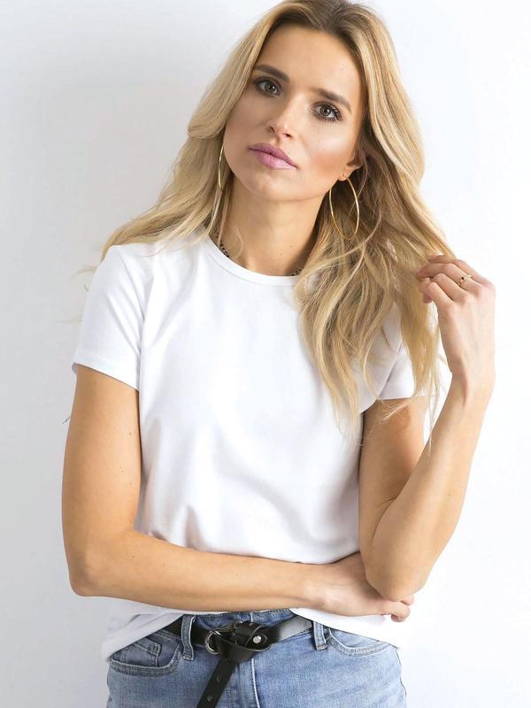 Базовая однотонная белая футболка много цветов в одном размере новинка2020 Турция, цена - 198 грн, #35236554, купить по доступной цене | Украина - Шафа