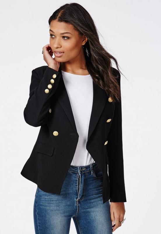 пиджак женский с железными пуговицами