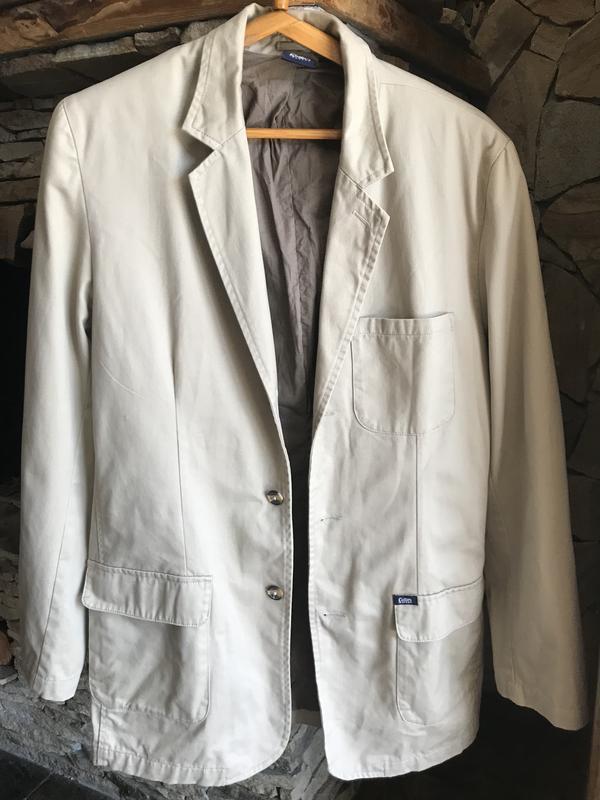 Котоновый бежевый пиджак Cotton Traders, цена - 145 грн, #35518453, купить по доступной цене | Украина - Шафа