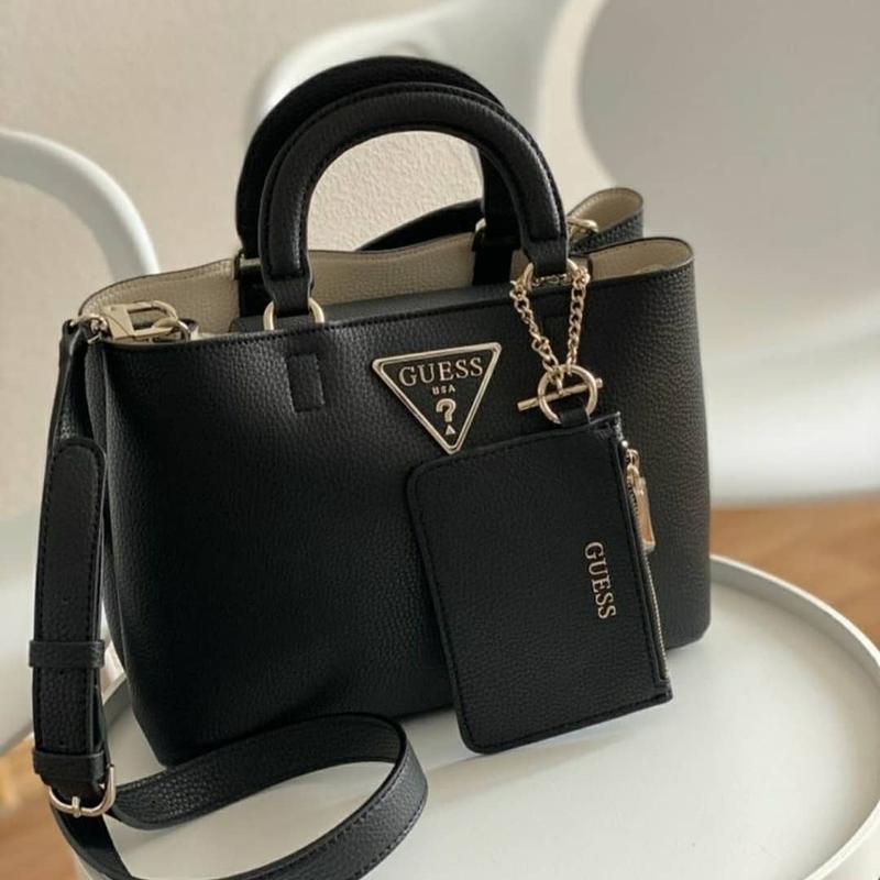 Сумка шоппер guess гесс satchel aretha оригинал Guess, цена - 2260 грн, #35948416, купить по доступной цене | Украина - Шафа