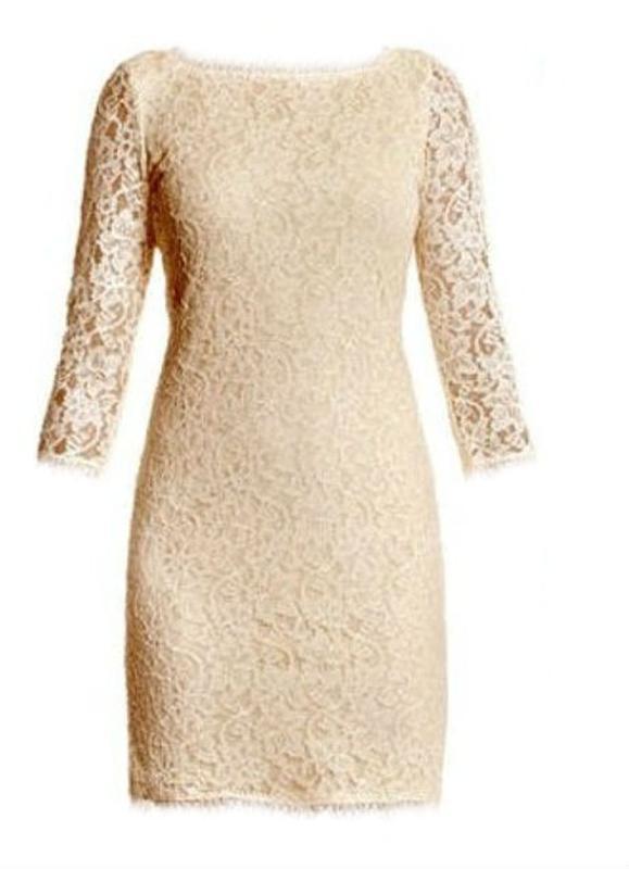 c441508c5f7d Бежевое кружевное платье