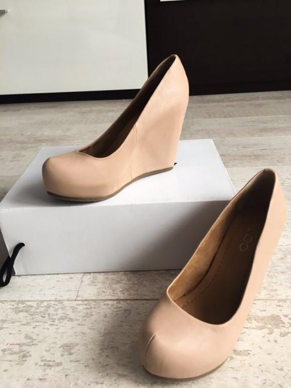 1f6ee88e1 Новые бежевые туфли на танкетке ALDO, цена - 650 грн, #4159871 ...