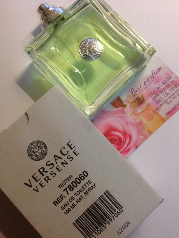 Versace versense туалетная вода 100 ml тестер оригинал италия1 ... e0b35e8032abb