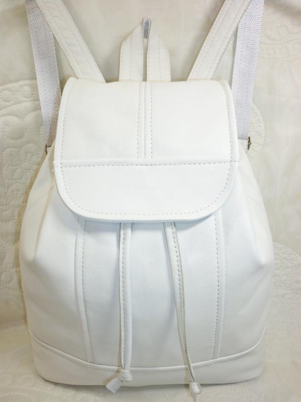 Купить белый рюкзак из кожи gulliver рюкзаки отзывы хвасты
