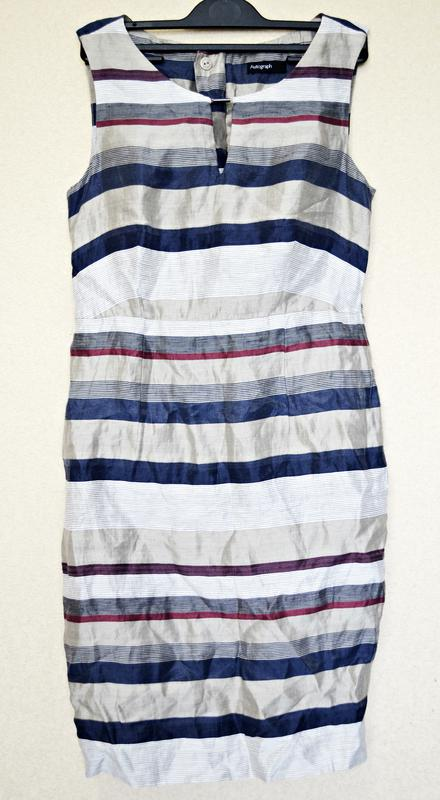 Льняное платье на подкладке