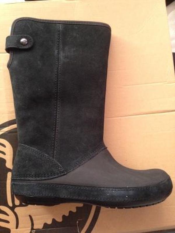 unikalny design informacje o wersji na fabrycznie autentyczne Продам замшевые сапоги crocs berryessa tall suede boot (Crocs) за 1000 грн.
