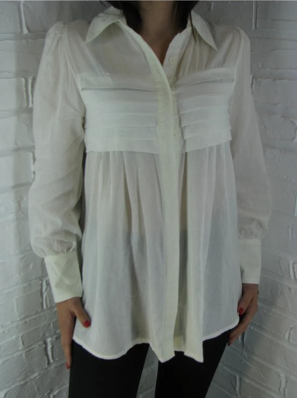 Белая блузка рубашка, цена - 90 грн, #36446832, купить по доступной цене | Украина - Шафа