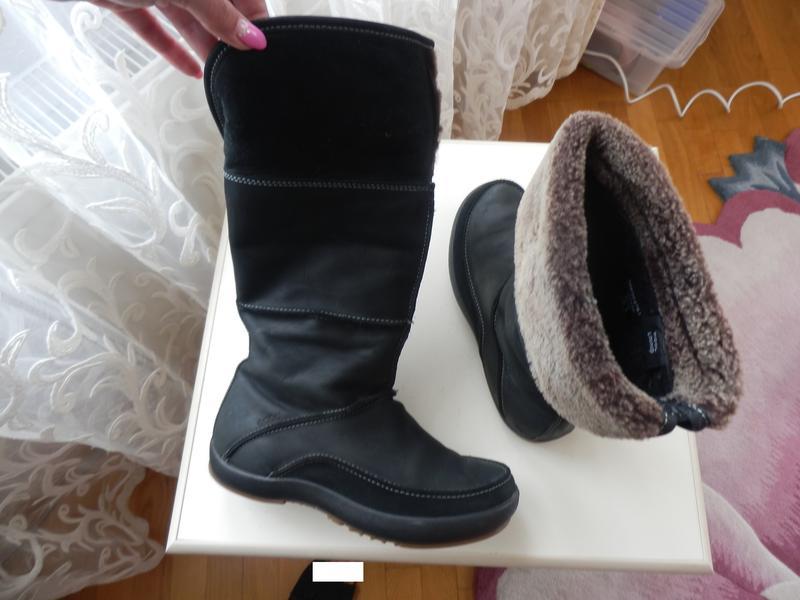 Кожаные сапоги ecco 36р 23,5см Ecco, цена - 580 грн, #36574063, купить по доступной цене | Украина - Шафа