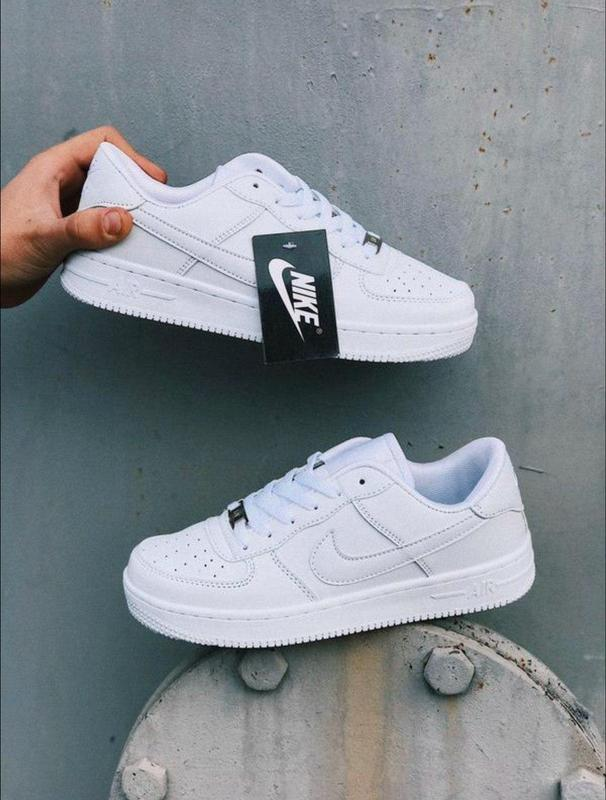 Женские кроссовки nike air force 1 white ✰ белого цвета ? Nike, цена - 1149 грн, #36585808, купить по доступной цене | Украина - Шафа