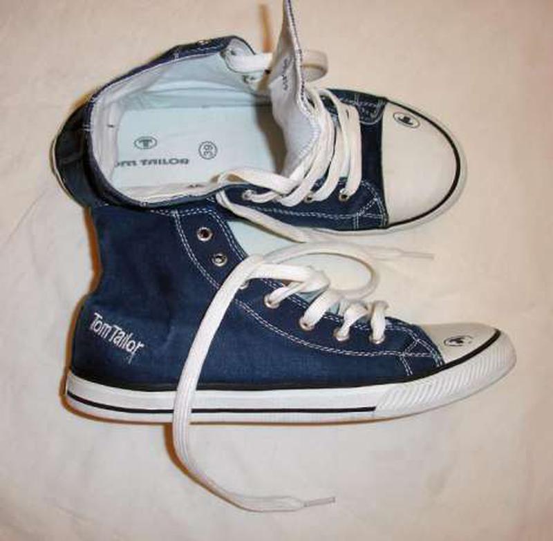 c93586ede16a Кеды tom tailor размер 38 стелька 24.5 см темно синие кроссы модные продаю  кеды фирма том ...